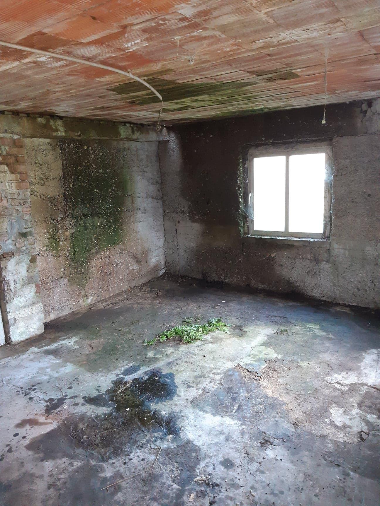 Pièce vidé aprés un vide maison