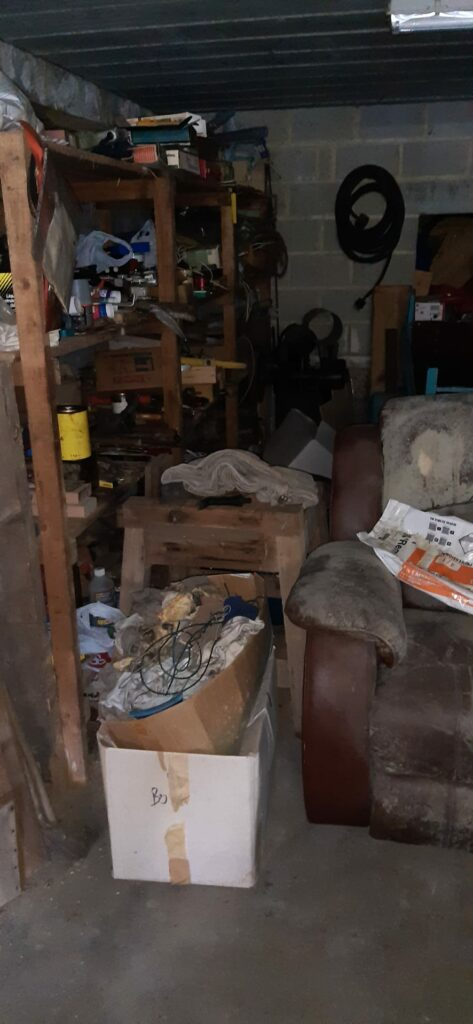 Garage a vidé